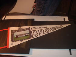 1965 Cleveland Browns World Champs Picture Pennant 2