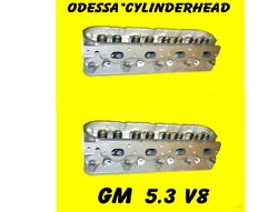 Pair Gm Gmc Cadillac Buick Chevy 4.8 5.3 Ohv V8 Cylinder Heads Cast 706 And 862