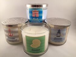 Bath and amp; Body Works Large 3 Wick Candle Pick Your Scent $29.49