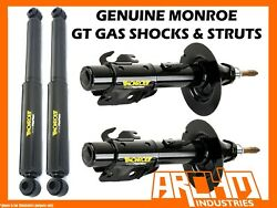 Front And Rear Monroe Gt Gas Shock Absorbers For Volvo 850 Series Sedan 1991-1994