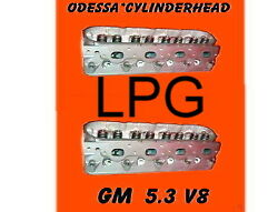 Lpg Pair Gm Gmc Cadillac Buick Chevy 4.8 5.3 Ohv V8 Cylinder Heads No Core