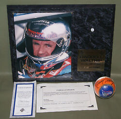 Signed Baseball Nascar Racing Darrell Waltrip Autographed Limited Edition