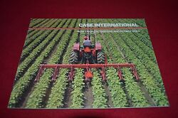 Case International Row Crop Cultivators And Rotary Hoes Dealer's Brochure Gdsd