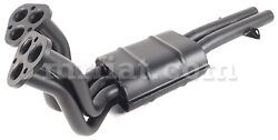 Ferrari 275 Gtb/4 - Gts/4 Ansa Front Muffler Right Side Includes Front Pipes New