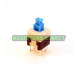 20x DPDT 8x8mm 0.5A 50V Push Button Latching Tactile Switch ON/OFF 20pcs C38