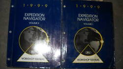 1999 FORD EXPEDITION LINCOLN NAVIGATOR Repair Service Shop Manual Set FACTORY 99