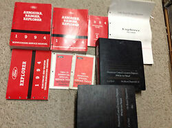 1994 FORD EXPLORER SUV Service Shop Repair Manual Set W EVTM & PCED SPECS + MORE