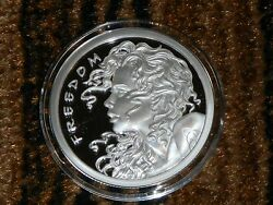 Proof Freedom Girl 1oz Sbss Silver Bullet Silver Shield The New Peace Dollar