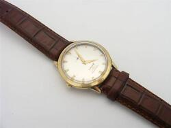 VINTAGE LONGINES WRIST WATCH.  AUTOMATIC. 8 INCH. 10K GOLD FILLED #32964