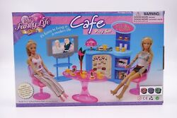Gloria,barbie Size Doll House Furniture/2918 My Fancy Life Cafe