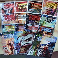 Teen Titans Dc New 52 Set 0 - 11 And 13 - 17 Including Death Of The Family Issue