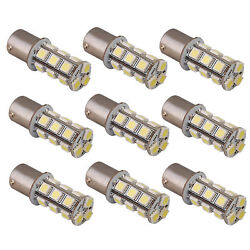 12 pcs BA15s 18 LEDs Bulb replacement for #1141 #1156 RV Tail Light, Interior