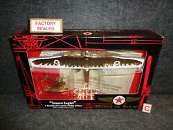 Wings Of Texaco 10 Eaglet Franklin Utility Glider Airplane Special Gold Ed New