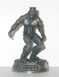 Leading Edge Dracula In Wolf Form 75 Mm Pewter Miniature Statue 1992 Mint In Box
