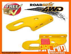 Roadsafe Pair Of Heavy Duty Tow Points For Toyota Landcruiser 80/100/105 Series