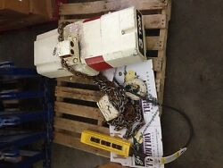 Coffing Ec6010-3-10 Electric Chain Hoist 3 Ton 10and039 Lift 230/460 3ph 2hp