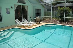 2978 Florida Villas For Rent 4 Bedroom Home With Private Fenced Pool 10 Nights
