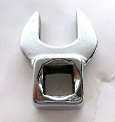 Easco Tools Crowfoot Wrench, Chrome, 3/8 In Dr, 14mm Made In Usa 64514