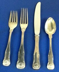 Kirk Stieff Kirk King Sterling 4 Piece Place Setting Place Size New