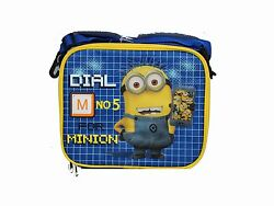 Black and Blue Dial 5 for Minion Despicable Me Lunch Box - Licensed Product