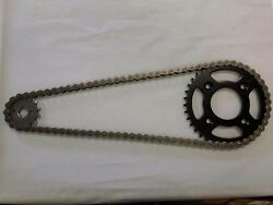 Honda Xr50r Xr 50 R And Crf50f New Sprocket 14/37 And Standard Chain Set