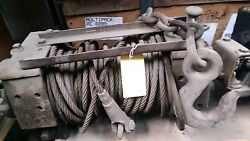 Winch M37 M715 8000lbs Military Truck Parts 2.5 Ton 007728126