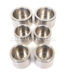 Maserati Ghibli Coupe Spider Stainless Steel Front Brake Pistons Set New
