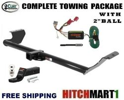 Class 3 Curt Trailer Hitch Package 2 Ball For 2005-2010 Honda Odyssey  13068