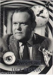 Twilight Zone Series 4 Science And Superstition Hall Of Fame H6 257/333 J Weston