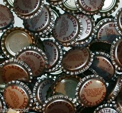 Soda Pop Bottle Caps Lot Of 25 White And Laird Birch Beer Unused New Old Stock
