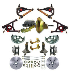 Chevelle Control Arms Std. Disc Brakes Pwr Brake Kit All In A Single Package