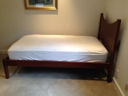 Ll Bean Twin Solid Maple Platform Bed With Mattress Included See Link Below