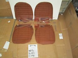 New Pair Of Seat Covers Upholstery Mgb 1973-80 Made In Uk Autumn Leaf Sc124k