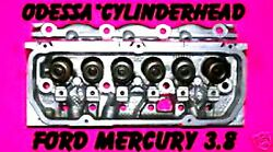 Ford Mercury Taurus Sable Thunderbird 3.8 Cylinder Head Carbureted Version Only