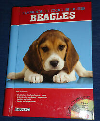 BEAGLES  by Eve Adamson (2009 Mixed Media) Barron's Dog Bibles HB wDVD