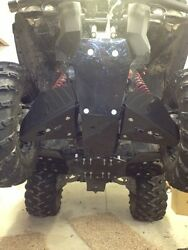Can Am Outlander G2 Max/xmr 500 650 800 1000 Skid Plate Aarm Guards/floorboards
