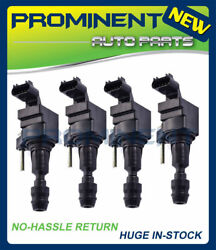 4 Ignition Coils