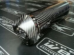 Triumph Daytona 955i 2004 2005 2006 Carbon Oval Carbonedge Exhaust Can Silencer