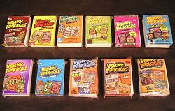 2004-13 Topps Wacky Packages Series 1234567891011 ALL 11 COMPLETE SETS