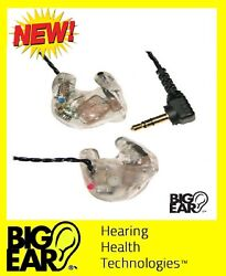 Top Of The Line Stereo Ear Plugs W/ambient Noise Amplifier Hearing Protection