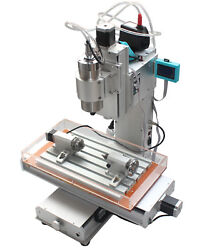 4 Axis Engraving Machine High-pricision Ball Screw Cnc 3040 Router Table Column