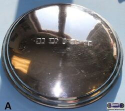 And03940-and03950-and03960and039 Buick Used Chrome Dog Dish Hubcap Raised Buick10-1/8 Id Dd003