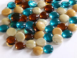 100 X Glass Pebbles / Nuggets / Stones / Gems Top Selling Mixes