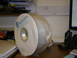 Alpha Wire Sw22 Nylon Natural 3/8 Spiral Wrap Tubing 100and039 Foot Rolls