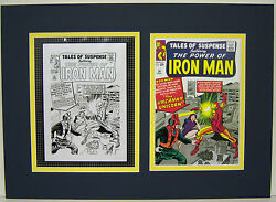Production Art Jack Kirby Tales Of Suspense 56 Matted W/cover Print