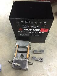 Thomas And Betts 21940 40 Ton Hydraulic Crimp Tool 11418 Dies Burndy Case + More