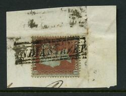 PENNY RED SCOTS LOCAL USED as CANCEL...INDIA STREET on SCp16