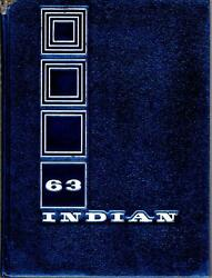 Anderson High School Indiana 1963 Yearbook Annual