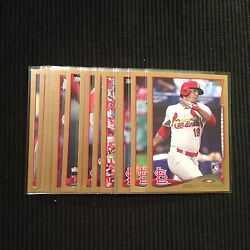2014 TOPPS UPDATE ST LOUIS CARDINALS *GOLD BORDER # 2014* TEAM SET 14 CARDS