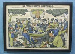 Wonderful 19th Century French Whimsical Print Cool